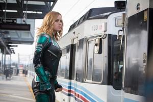 Captain Marvel 5k Wallpaper