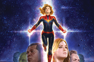 Captain Marvel 5k New Art