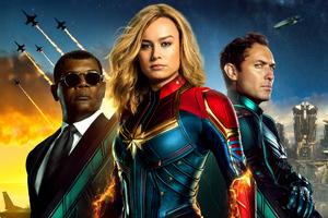 Captain Marvel 5k New Poster