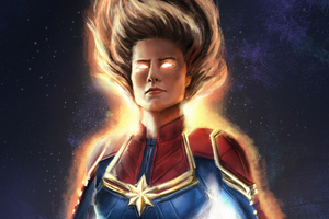 Captain Marvel Artsnew