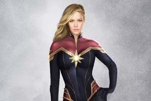 Captain Marvel Artwork 2019