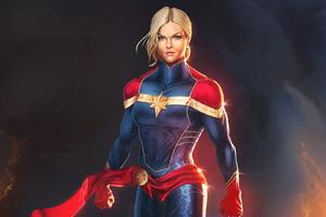 Captain Marvel Artworks