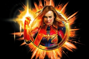 Captain Marvel Avengers EndGame 2019 4k