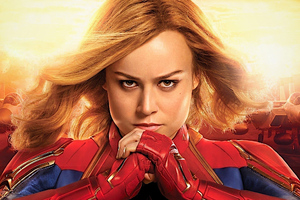 Captain Marvel Brie Larson Wallpaper