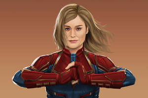 Captain Marvel Fan Art