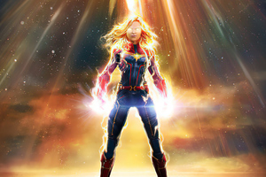 Captain Marvel Marvel Contest Of Champions 2020