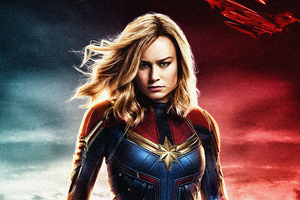 Captain Marvel Movie 2018 5k