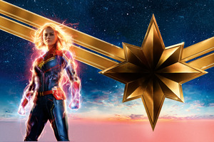 Captain Marvel Movie 2019 12k