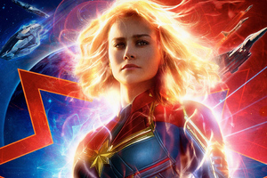 Captain Marvel Movie 2019 4k