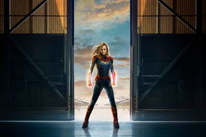 Captain Marvel Movie 2019 Offical Poster