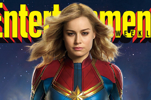 Captain Marvel Movie Entertainment Weekly