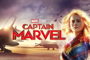 Captain Marvel Movie New Poster Wallpaper