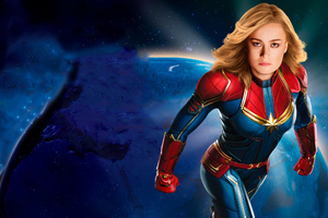 Captain Marvel New 2019 Poster