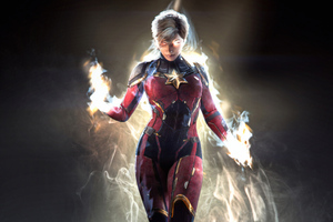 Captain Marvel New Art4k