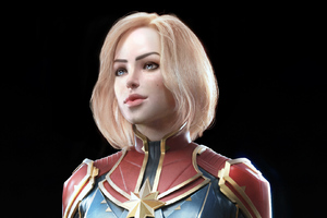 Captain Marvel New Arts
