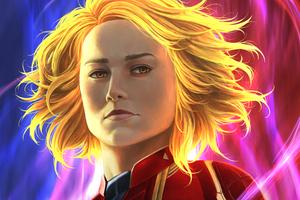 Captain Marvel New Artss Wallpaper
