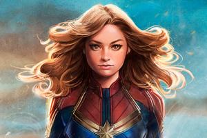 Captain Marvel New Artwork