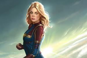 Captain Marvel New Artworks
