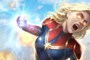 Captain Marvel Newarts