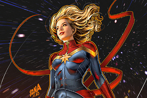 Captain Marvel No1 Wallpaper