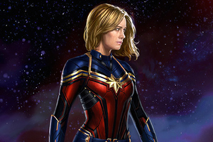 Captain Marvel4knew Wallpaper