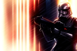 Captain Phasma Art4k Wallpaper