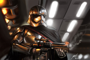 Captain Phasma Art4k 2020 Wallpaper