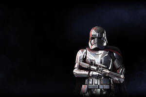 Captain Phasma Star Wars Battlefront 2 5k