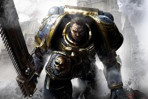 Captain Titus Warhammer 40000 Space Marine Wallpaper
