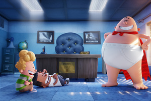Captain Underpants 4k