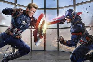 Captain Vs Captain America 4k