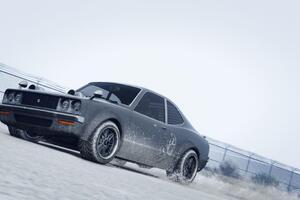 Car In Snow Gta 5 4k Wallpaper