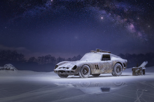 Car Snow 4k Wallpaper