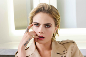 Cara Delevingne Dior Photoshoot 2018 5k