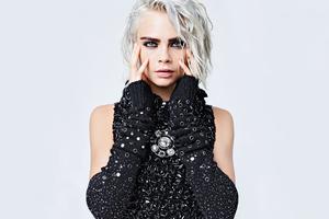 Cara Delevingne Lily Rose Depp Chanel 2017