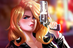 Carlos Morilla Gun Wallpaper