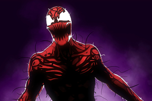 Carnage From Marvels Spider Man Series Wallpaper