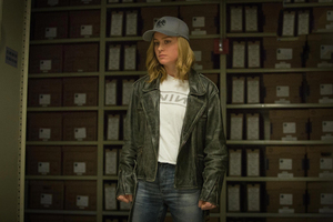 Carol Danvers In Captain Marvel Movie 2019