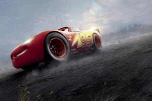 Cars 3 Red Lightning McQueen 8k Wallpaper