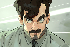 Cartoon Henry Cavill As August Walker In Mission Impossible Fallout