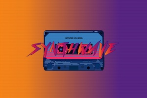 Casette Retrowave Wallpaper
