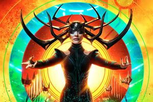 Cate Blanchett Thor Ragnarok 12k Wallpaper