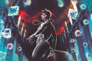 Catwoman 2020 Art
