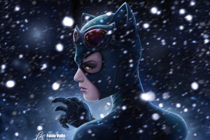 Catwoman Artwork HD