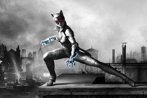 Catwoman Batman Arkham