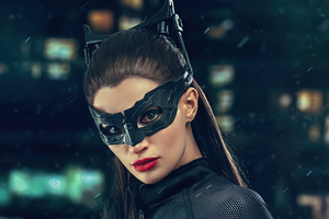 Catwoman Cosplay 4k