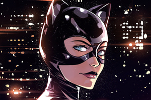 Catwoman Darkness City 4k