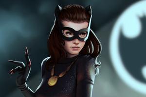 Catwoman Digital Artwork