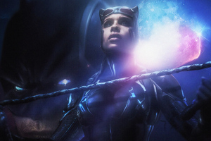 Catwoman Zoe Kravitz Wallpaper