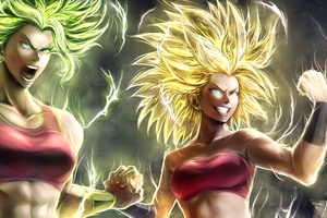 Caulifla Kale Dragon Ball Super Girls Wallpaper